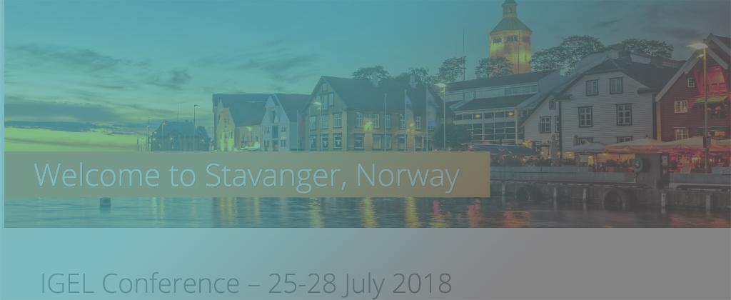 IGEL Conference – 25-28 July 2018